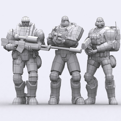 First Additional product image for - X-Commanders-3d-animated