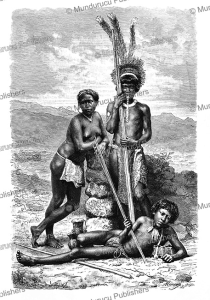 Roucouyenne Indians, French Guiana, H. Thiriat, 1883 | Photos and Images | Travel