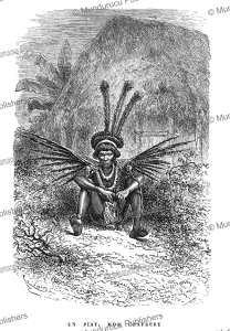 A medicine man of the Roucouyenne Indians, French Guiana, E´douard Riou, 1867   Photos and Images   Travel