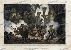 Botocudo Indians, Buris, Patachos & Macharis, Jean Baptiste Debret, 1834 | Photos and Images | Travel