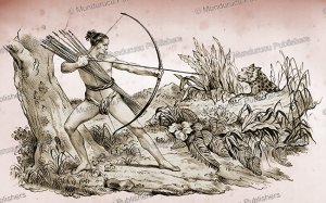 Botocudo hunter, Jacques Arago, 1840 | Photos and Images | Travel