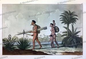 Botocudo chief Kerengnatnuck with his family, K. Bonatti, 1816 | Photos and Images | Travel