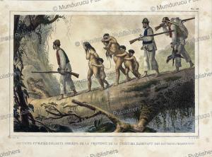 Wild Indians captured by civilized Indians, Jean Baptiste Debret, 1834 | Photos and Images | Travel