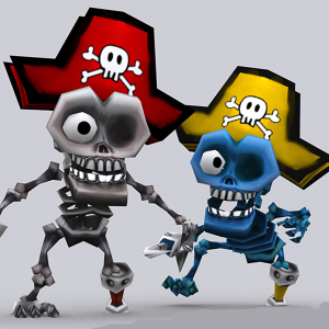 Toonpets skeletons Animation 3D | Photos and Images | Children