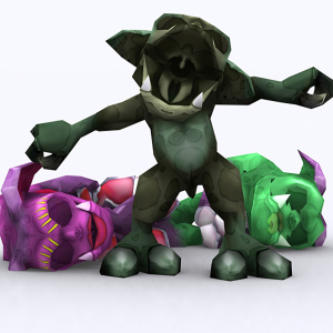 Fantasy Gremlins gameready 3D | Photos and Images | Children