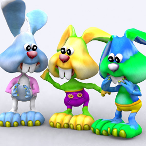 Toonpets Bunnies animations 3D | Photos and Images | Children