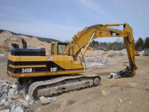 download caterpillar 345b series ii mh excavator spare parts catalog manual