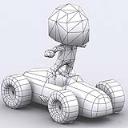 Chibii racers - retro cars 3D | Movies and Videos | Sports