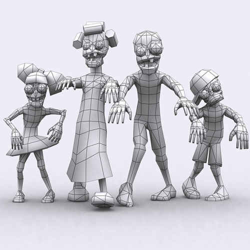 First Additional product image for - Fantasy Toonworld Zombie family 3D Full HD