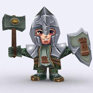 Chibi realm fantasy construction kit bundle 3D | Photos and Images | Children