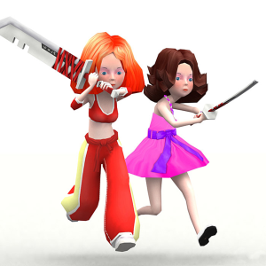 Candy squad girls 3d characters bundle | Photos and Images | Children