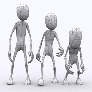 Toon Spawns lowpoly 3d characters pack | Photos and Images | Children