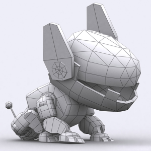Robopuppies animated lowpoly 3d pack | Photos and Images | Children