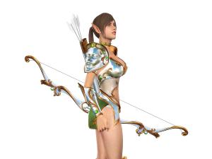 3dfoin - royal archer