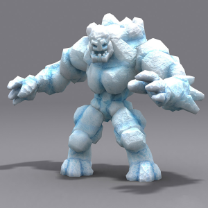 Elemental golems 3d animated lowpoly pack | Photos and Images | Children