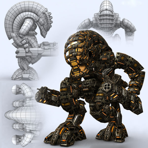 Fully rigged and animated 3D Mech robots pack | Photos and Images | Children
