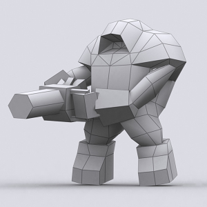 Warbots Punishers characters pack 3D | Photos and Images | Children