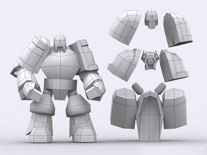 Warbots Gladiators pack 3D | Photos and Images | Children
