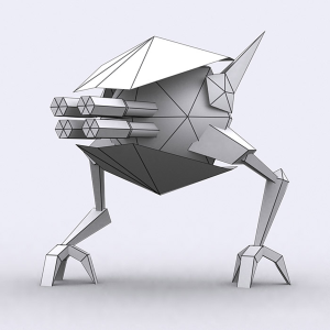 Extreme lowpoly warbots mechanoids 3d characters pack | Photos and Images | Children