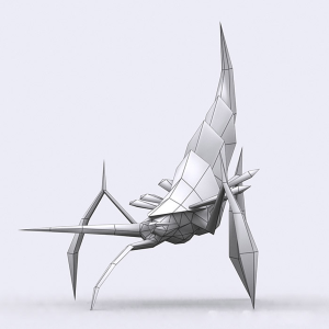 insectoids monsters animated 3d