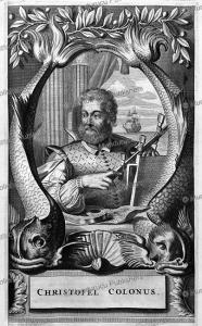 christopher columbus, arnoldus montanus, 1671