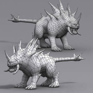 Hellhounds monsters 3d animated | Photos and Images | Children