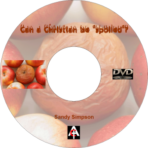 can a christian be spoiled? (mp3)