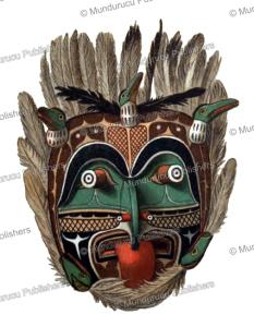 Mask representing the Earthquake, Rudolf Cronau, 1909 | Photos and Images | Travel