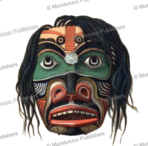 Kwakiutl Laughing mask, Rudolf Cronau, 1909 | Photos and Images | Travel