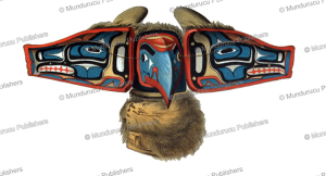 kwakiutl mask of the raven, franz boas, 1890