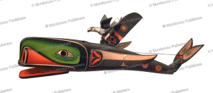 Kwakiutl mask representing Whale and Thunderbird, Rudolf Cronau, 1909 | Photos and Images | Travel