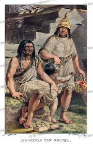 Natives of Nootka, Jacques Kuyper, 1802 | Photos and Images | Travel