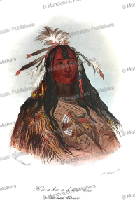 H'co-a-h'co-a-h'cotes-min, a Flat Head Warrior, George Catlin, 1844 | Photos and Images | Travel