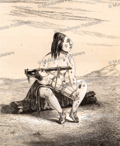 Tattooed Chinook-woman with flattened head, A. Joliet, 1860 | Photos and Images | Travel