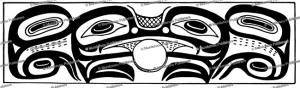 tsimshian sea monster, leonhard adam, 1923