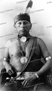 osage warrior wah-she-ha with ceremonial chest tattoo, 1897