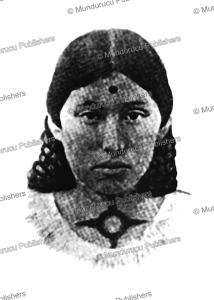 Ponca girl with mark of honour tattoos, C. Fletcher, 1911 | Photos and Images | Travel
