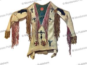 arapaho ghost shirt, mary irvin wright, 1896