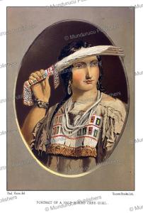 Plains Cree woman, Great Plains, Paul Kane, 1859   Photos and Images   Travel