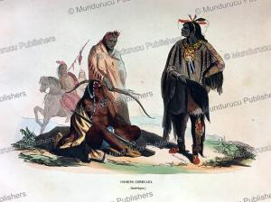 Corbeau Indians, Missouri, L. Markaert, 1844 | Photos and Images | Travel
