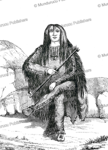Satsikaa or Blackfoot Indian, A. Joliet, 1860   Photos and Images   Travel