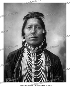 thunder cloud, a blackfeet indian, frank a. rinehart, 1898