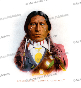 apache chief james a. garfield, detroit publishing company, 1899