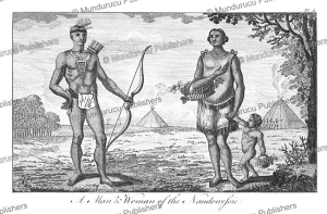 a man & woman of the naudowessie or sioux indians, j. carter, 1778