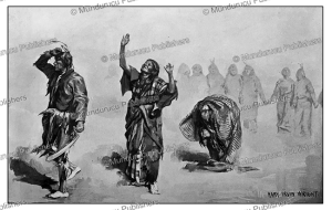ghost dance-inspiration, sioux indians, mary irvin wright, 1896