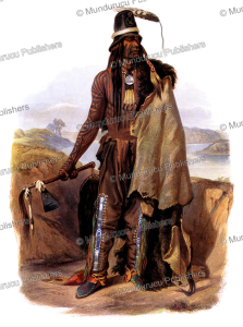 Abdih-Hiddisch, a Hidatsa chief, Karl Bodmer, 1840 | Photos and Images | Travel