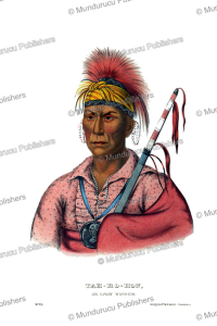 Tahrohon, an Ioway warrior, Thomas McKenney, 1872 | Photos and Images | Travel