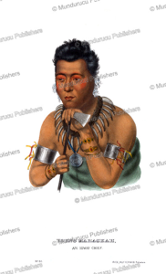 Young Mahaskah, an Ioway chief, Thomas McKenney, 1872 | Photos and Images | Travel