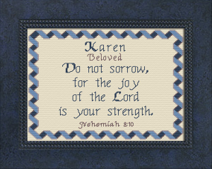 Name Blessings - Karen 3 | Crafting | Cross-Stitch | Other