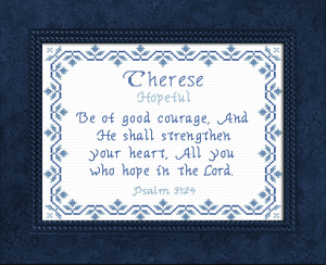 Name Blessings - Therese | Crafting | Cross-Stitch | Other